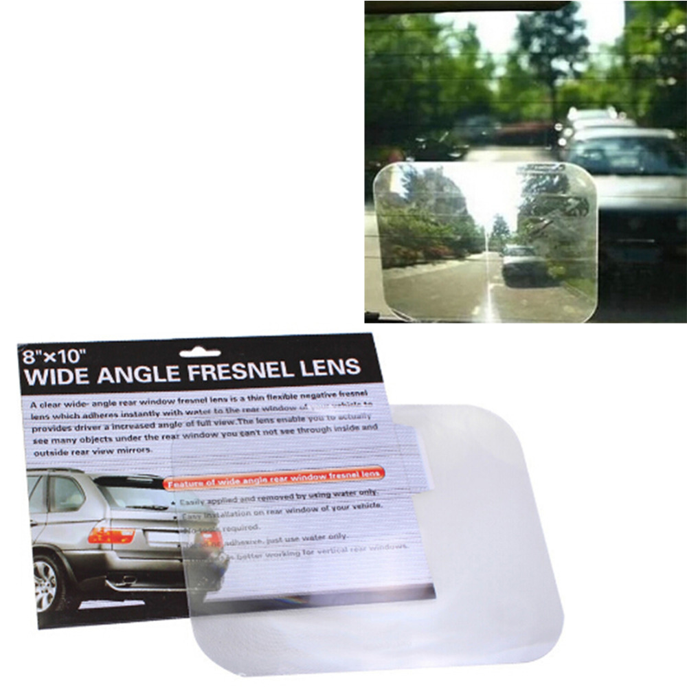 Car Reversing Wide Angle Fresnel Lens Sticker Car Interior Reversing Mirror Rearview Stickers Car-Styling Labels
