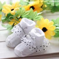 1 para skarpet dla dzieci śliczne maluch niemowlę bawełniane kostki łuk dla niemowląt skarpetki dla niemowląt księżniczka koronki kwiatowy buty do- skarpetki antypoślizgowe bawełniane skarpety
