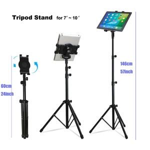 Image 5 - Arvin ขาตั้งกล้องปรับหมุนผู้ถือแท็บเล็ตสำหรับ IPad Pro 7 11 นิ้วแท็บเล็ต Samsung Mount ชั้นขาตั้งขาตั้งกล้องฐาน