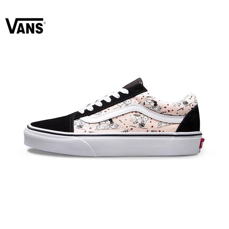b0e44e0804 Original New Arrival Vans Women s Classic Old Skool Low-top Skateboarding  Shoes Sport Outdoor Canvas