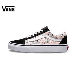 Original New Arrival Vans Women's Classic Old Skool Low-top Skateboarding Shoes Sport Outdoor Canvas Sneakers VN0A38G1OQV
