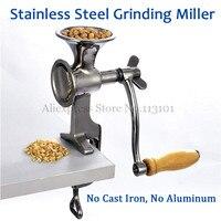 Fresh Ground Coffee Grinding Miller Stainless Steel Flour Mill Pulverizer for Wheat Corn Flour Peanut Soybean Walnut