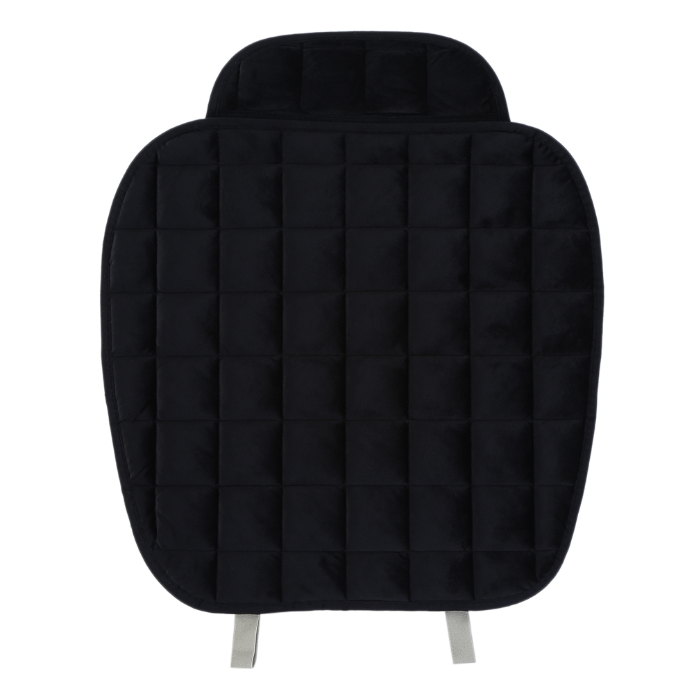 1pcs Universal Plush Car Seat Cover Protector Driver Chair Pad Cushion Comfortable And Breathable Cover Non-Slip Bottom