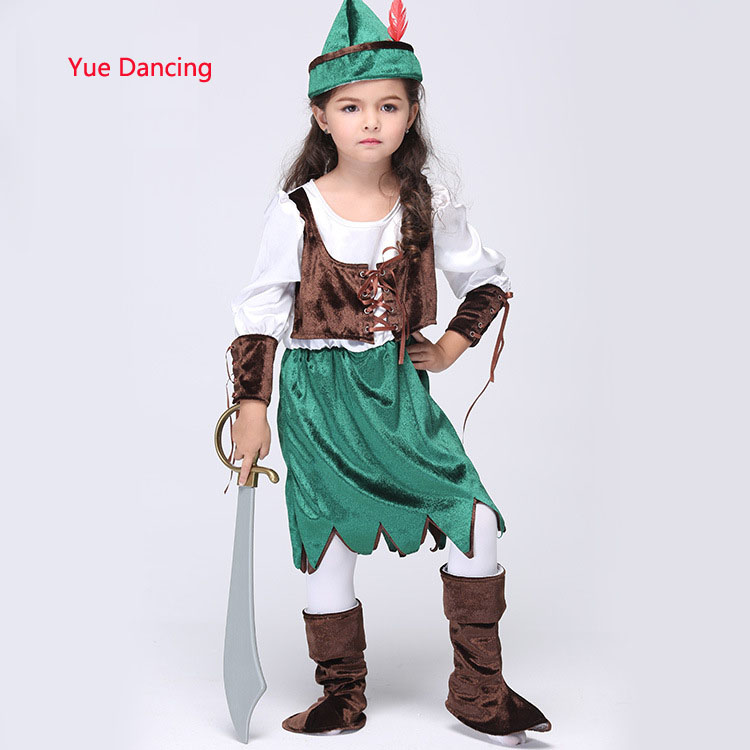 Halloween Christmas Pirate Costumes Girls Party Cosplay Costume For Children Kids Fancy Clothes Toddler Fanny Outfits For Sale