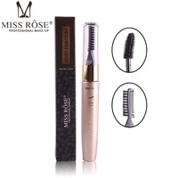 Miss rose Eyelashes Lengthening Extension Colossal Volume Mascara Black Ink 3d Fiber Quick Dry Lashes Makeup Curling Natural