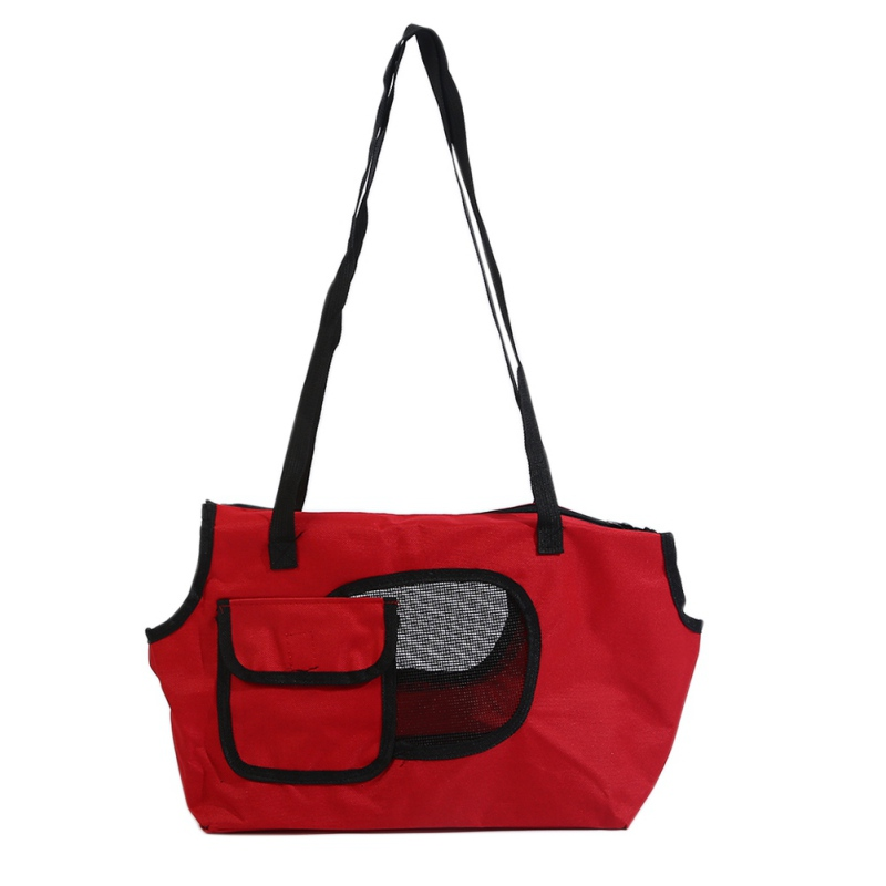 Pet Dogs Cat Travel Carriers Breathable For Small Dogs Solid Shoulder Pet Bag Dog Cats Outdoor Portable Bed