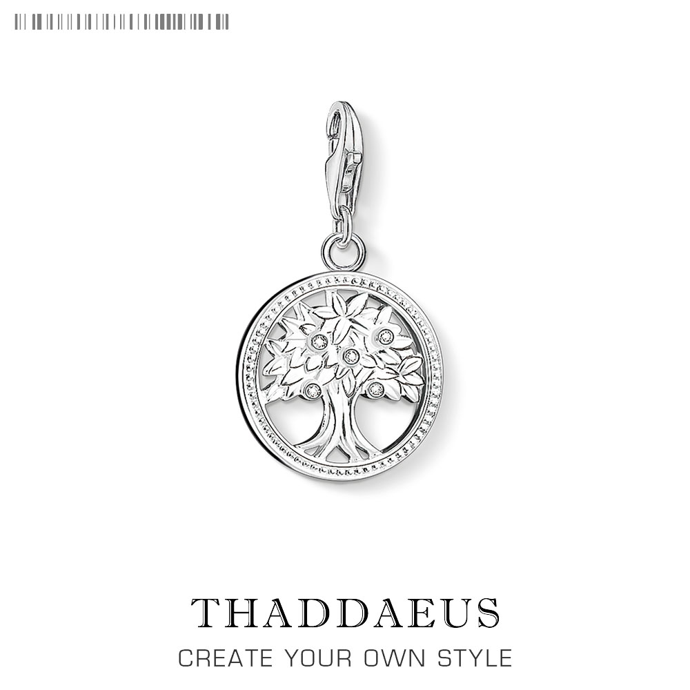 Hot Tree Of Life Round Small Pendant Charm 925 Sterling Silver Bijoux Collier Elegant Women Jewelry Gifts Dropshipping