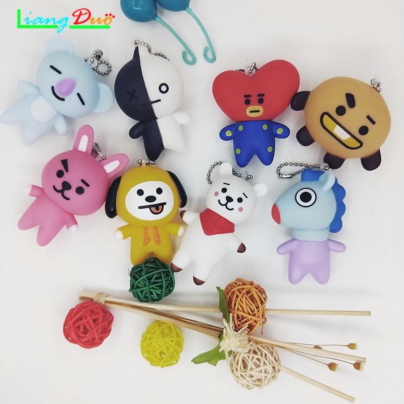 Doll Birthday-Gift TATA Universal Star BT21 Character Christmas Girl Boy Toy Alpaca RJ