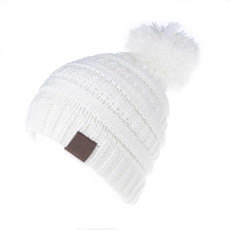 8d7800dfc7c ... XDOMI 2-6 Years Children Knitted Pom Pom Hat For Baby Boys Girls Beanies  Caps ...