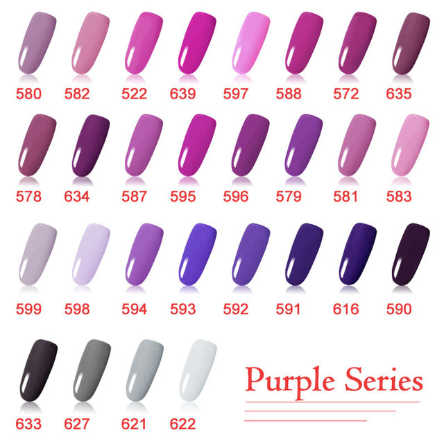 CANNI Output Nail Gel Paint Color UV Gel Nails Kit 141 Pure Color ...