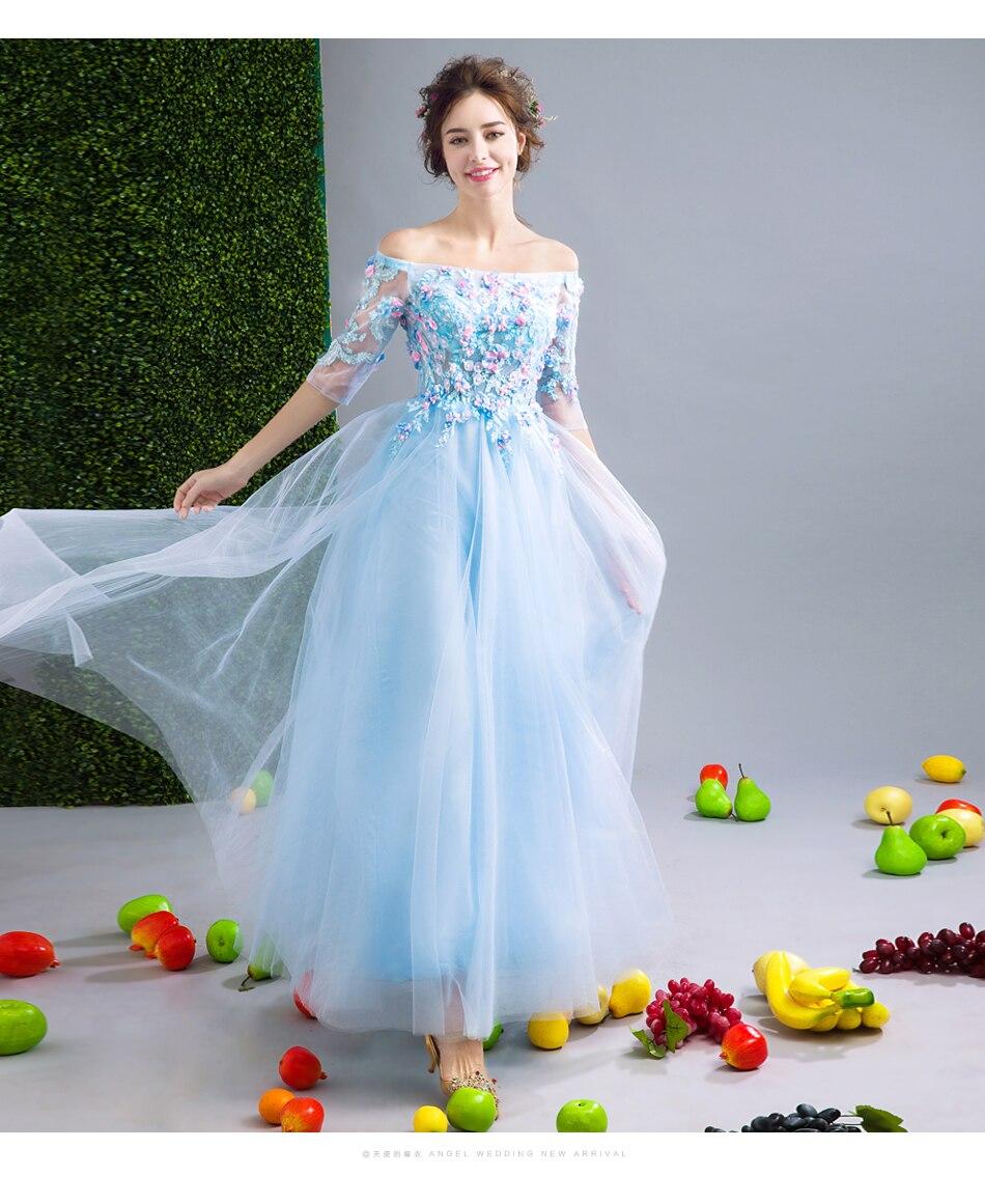 Beste Blau Prom Kleid Lang Zeitgenössisch - Brautkleider Ideen ...