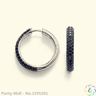 Hinged Hoop Earrings,Thomas Style Glam And Soul Good Jewerly For Women,2015 Ts Gift In silver-plated,Super Deals