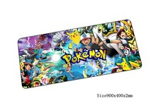 pokemon mouse pad giant pad to mouse notbook laptop mousepad locked edge gaming padmouse gamer to laptop computer keyboard mouse mats