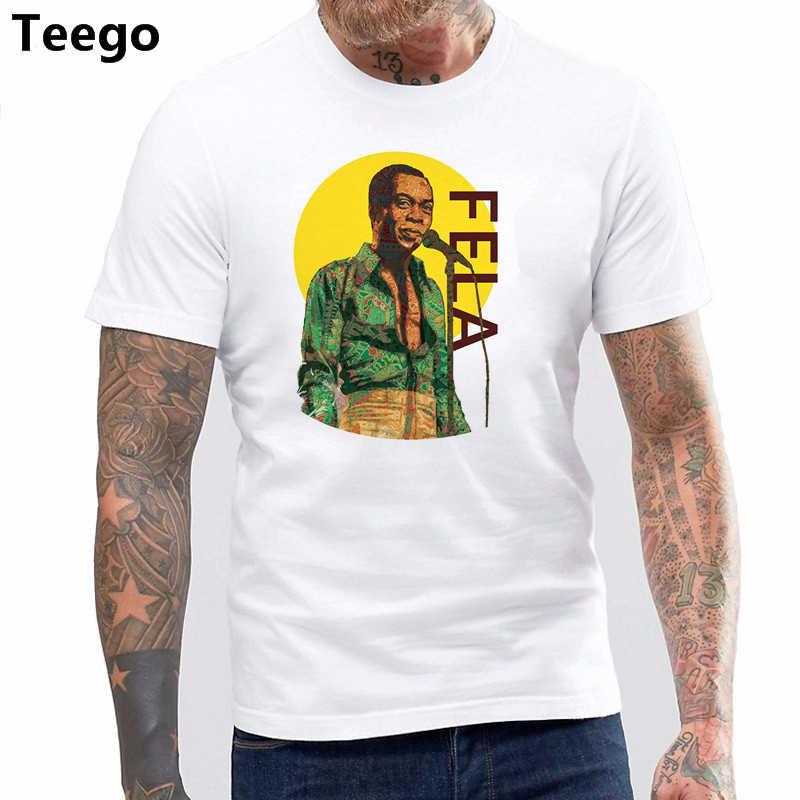 Fela Kuti T-Shirt 100% Cotone Africa 70 Afrobeat Zombie Egitto 80 Nigeria 70