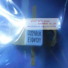 100% original: d2210uk d2210 uk [12.5v-40v 16a 20w 1ghz] transistor original de alta qualidade