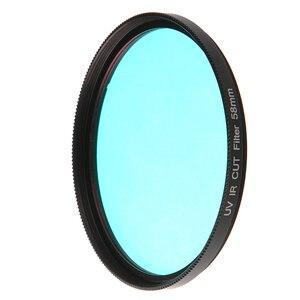 Image 3 - FOTGA אופטי זכוכית UV IR לחתוך מסנן 52mm 58mm לעבור אינפרא אדום X ray IR UV מסנן עבור DSLR ניקון Canon מצלמה