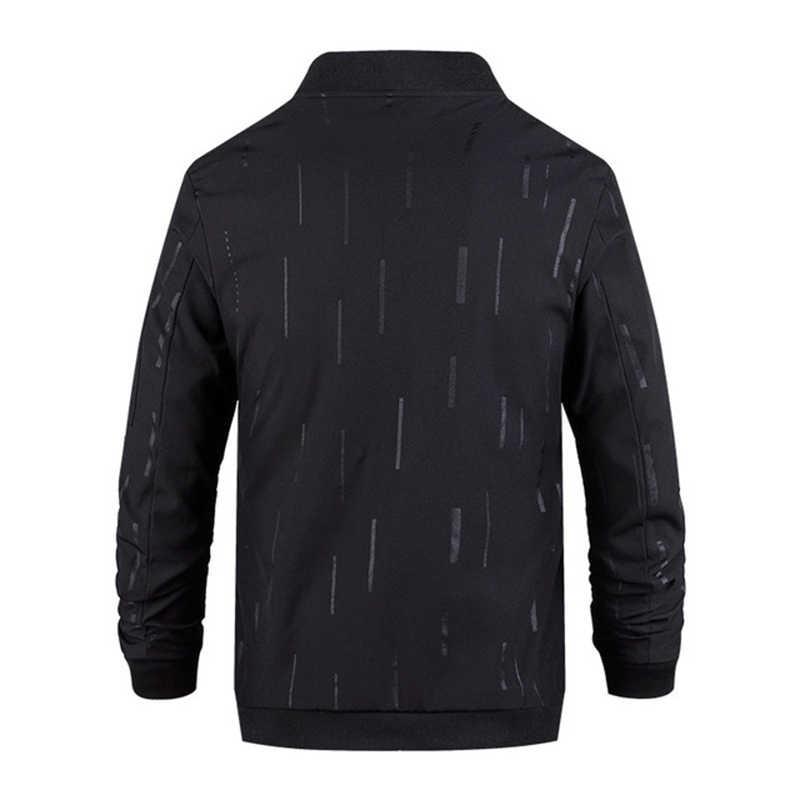 Мужская куртка, Тонкая Повседневная Верхняя одежда, весна-осень 2019, M-4XL, длинный рукав, на молнии, ветровка, Мужское пальто, верхняя одежда, модный Тренч