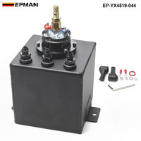 Universal 2L Aluminium Oil Catch Tank/Fuel Cell/Fuel Tank/Fuel Can with 044 Fuel Pump EP YX4519 044