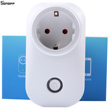 Itead Sonoff S20 – WiFi Wireless Remote Socket Smart Timer Plug Smart Home Outlet Power Socket EU Standard Via Phone 39