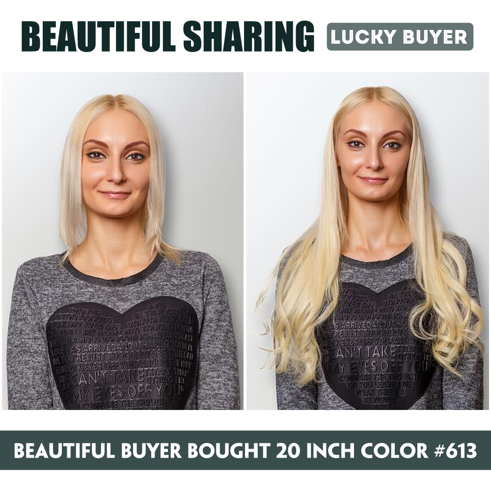 FOREVER HAIR 0.8g / s 16 «18» 20 «24» Remy Nail U Шашқа - Адам шашы (ақ) - фото 4