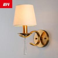 Klassische Vintage Kristall wand licht Nacht Gold Wand Lampe kristall wand leuchte E14 Led schlafzimmer lesen lampe AC110 ~ 220V ZBD0022 bedroom reading lamps gold wall lampwall lamp -