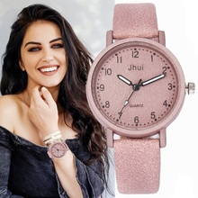 Elegant Quartz Women's Watches Luxury Leather Ladies Watch Fashion Wristwatch Women Bracelet Watches Clock Relogio Feminino brand women watch fashion leather thin belt quartz watch ladies luxury bracelet watches female clock relogio feminino joyl