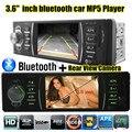 Новый 3.6 ''TFT HD Car Audio радио Стерео bluetooth MP5 MP4 игрок 12 В Автомобилей Аудио Видео MP5 FM USB/SD/1 Din поддержка сзади камера