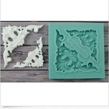 Clay Mold Crafts Cake-Decoration Fondant Liquid-Silicone-Corners Super-Light