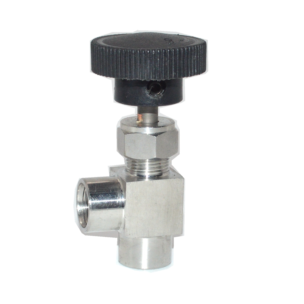 90 Degree Adjustable Needle Valve 1/8'' 1/4'' 3/8
