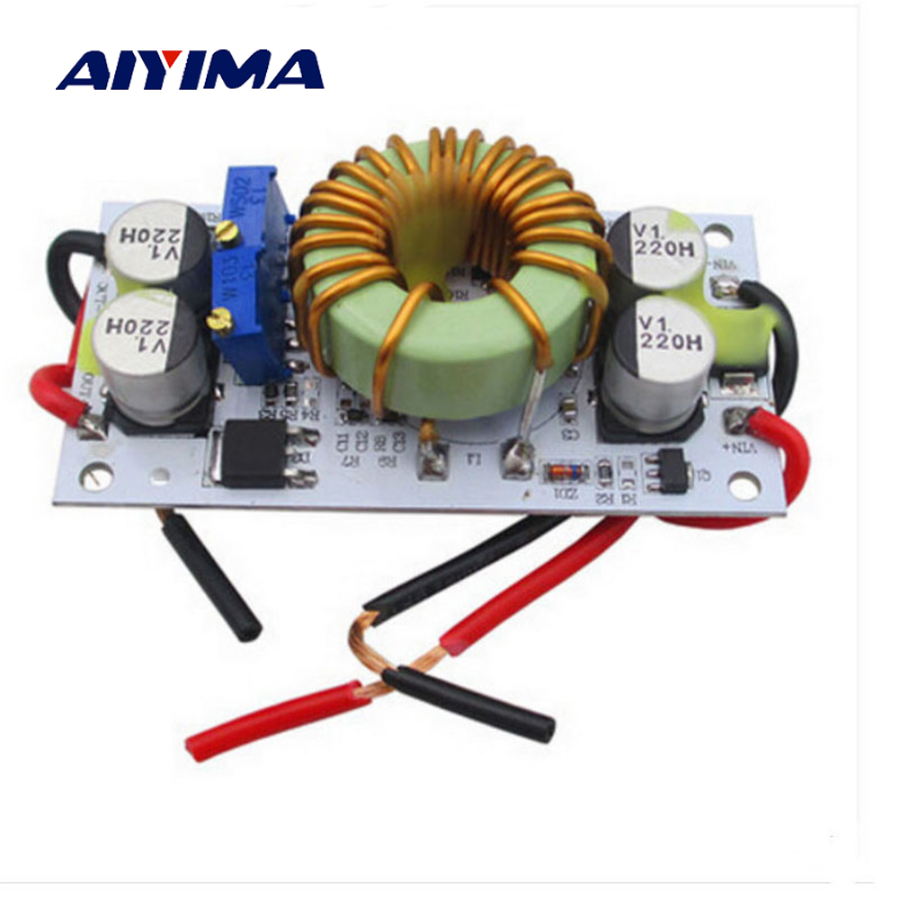 Aiyima 250W High-power DC-DC 12V To 24V 48V Step-up Module Mobile Power Supply LED Driver Boost Converter помада divage crystal shine 30 цвет 30 variant hex name 8c0317
