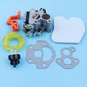 Image 4 - Carburetor Carb Air Filter Primer Bulb Fuel Line Kit For McCulloch CS380 CS340 CS 340 380 Chainsaw Switch Lever Replacement Part