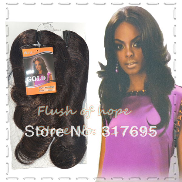 One Pack For 5 Styles Noble Gold Magic Meagan Synthetic Hair
