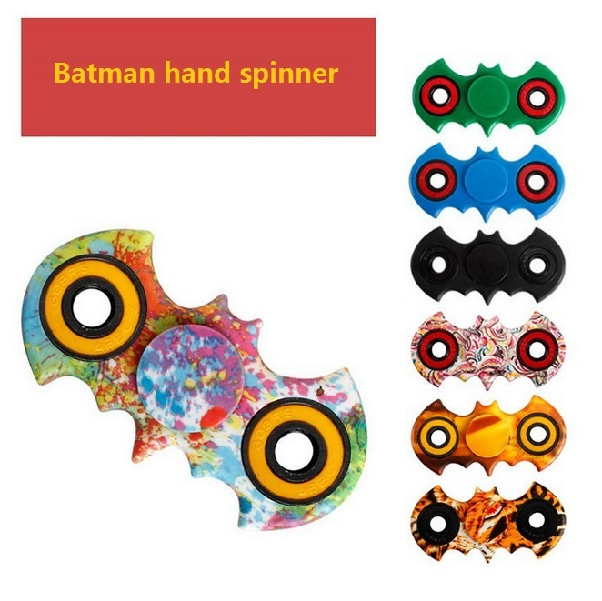 Hand Spinner batman style fidget spinner stress cube Hand Spinners Focus Keep Toy and ADHD EDC Anti Stress Toys