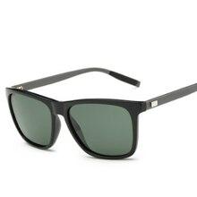 FONHCOO брендовые дизайнерские классические новые алюминиевые солнцезащитные очки, мужские модные очки для вождения, для отдыха, UV400, солнечные очки