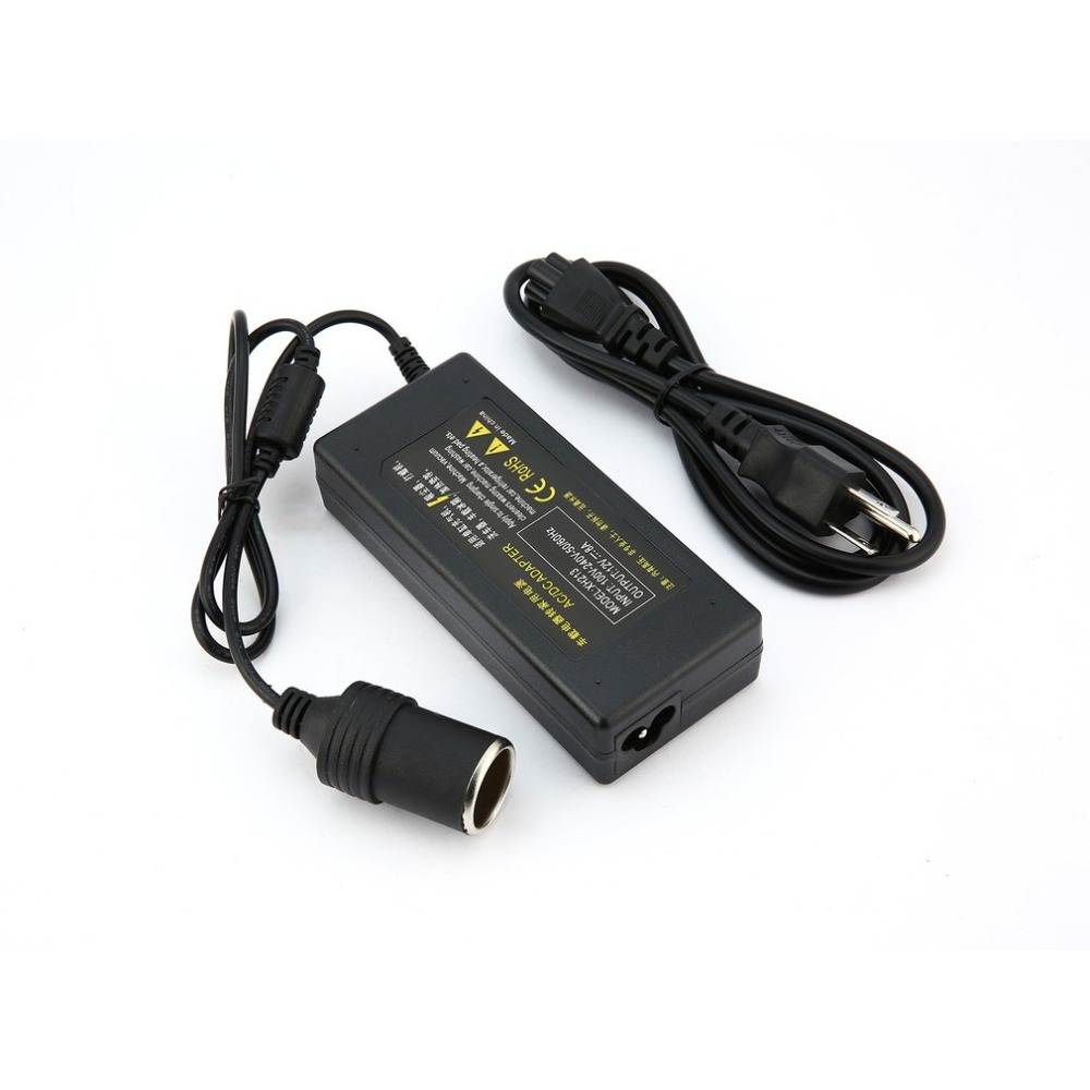 Car Inverter Car Power Conversion Cigarette Lighter 220V Turn 12V5A120W Adapter for Vacuum Cleaner Inflatable Pump