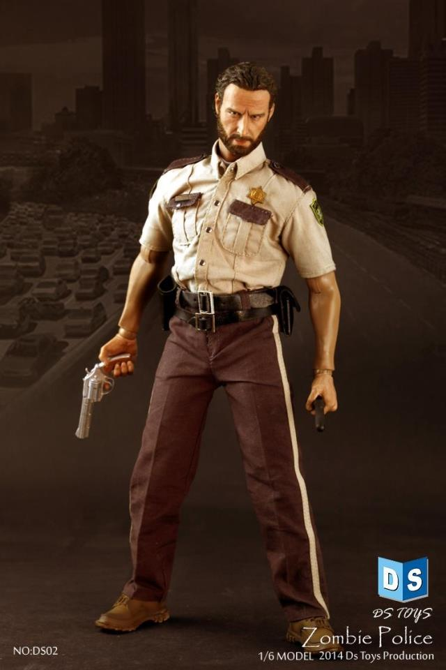 1/6 scale doll model THE WALKING DEAD RICK in Police Uniform Andrew Lincoln.12 Action figure doll.Collectible Figure model toy набор фигурок the walking dead 4 в 1 8 см