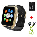 GT88 Bluetooth Smart Watch Waterproof Heart Rate Monitor Camera TF/SIM Card NFC Smartwatch for IOS Android Smartphone