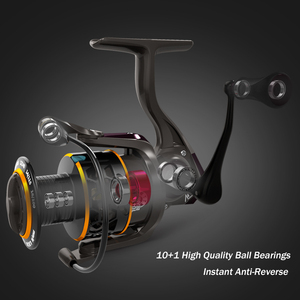 Image 4 - MEREDITH carrete giratorio para pescar, accesorio para pescar con Triple disco de arrastre de carbono de 12KG, máxima potencia de Arrastre, 5,2: 1 2000 3000 4000