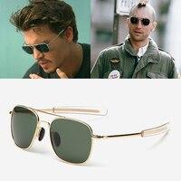 JackJad Модные мужские армейские военные авиационные стильные поляризованные солнцезащитные очки для вождения фирменный дизайн солнцезащитн...