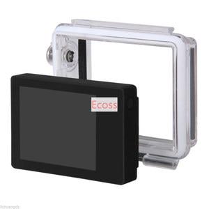Image 2 - Gopro lcd bacpac gopro hero3/3 +/hero4 schermo lcd display + back door case cover + cornice estensione + buckle supporto per gopro accessori