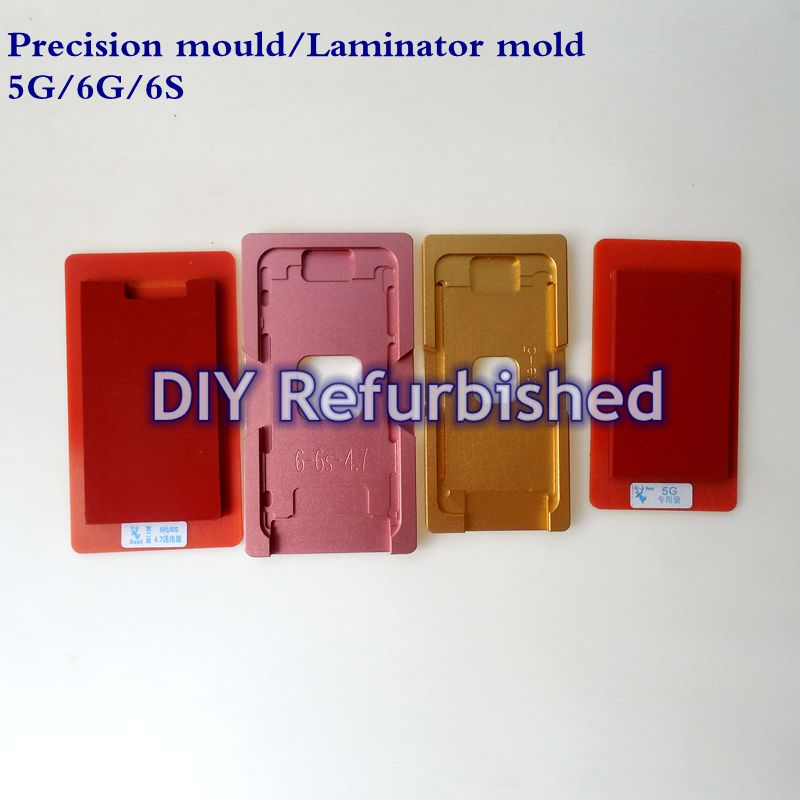 Glass With Frame Mould For iphone 5G 6G 6S Precision aluminium mold For OCA Laminating Machine