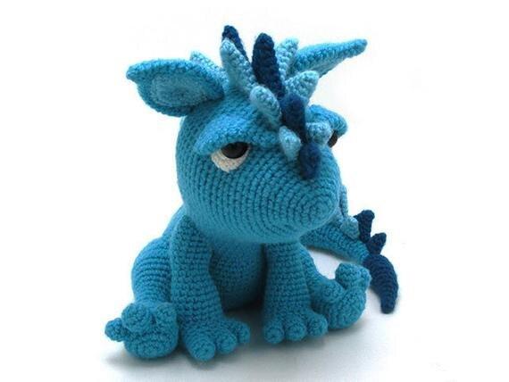 Crochet Toys  Amigurumi  Dragon Model Number B0118