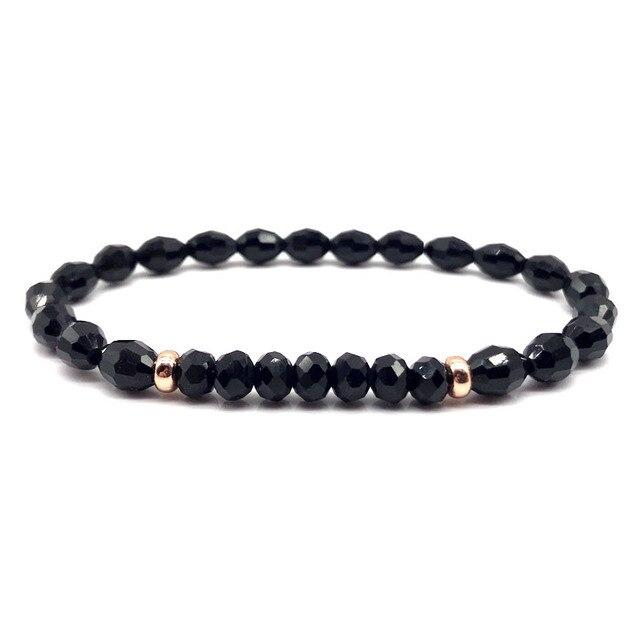 Beaded Bracelet Men 2019 Fashion Simple Bracelet Stone Beaded Charm Bracelet For Men Fashion Jewelry Gift