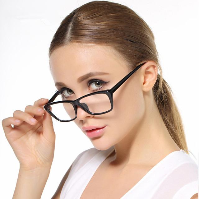 TR 90 Óculos de Design clássico Mulheres Vidros Ópticos Quadro