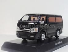 1:64 Toyota Hiace Van Alloy Model Diecast Show Car Replica Metal Miniature for Sale MPV Vehicle