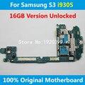 Versión europa placa base para samsung galaxy s3 i9305 16 gb 100% buen trabajo mainboard placa de cardenal gt-i9305 4g placa lógica