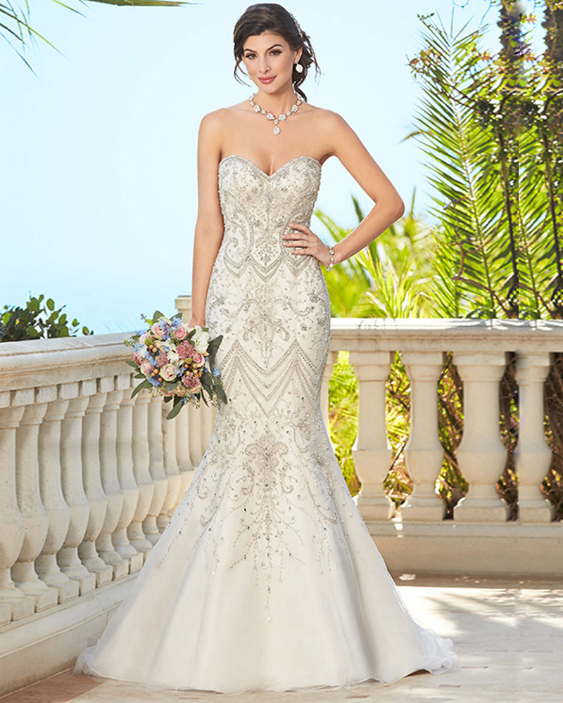 Champagne Lace Wedding Gown: New Arrive Extremely Shining Crystal Beaded Wedding Dress