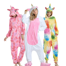 Kigurumi Pajamas For Women Pyjamas Unicorn Anime Panda Onesie Animal Stitch Costume Boy Sleepwear Flannel Adults Pijama