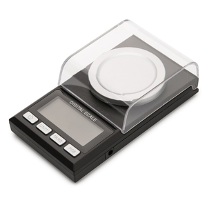 Image 1 - 0.001g Precision scales 100g /50g LCD Digital Scale for Jewelry Diamond Gold Medicinal Lab Milligram Gram Scale Electronic