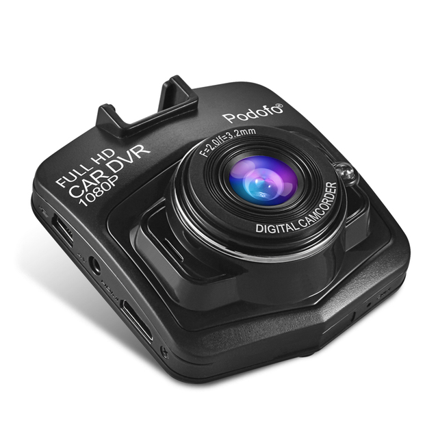 Podofo Newest Mini DVRs Car DVR GT300 Camera Camcorder 1080P Full HD Video registrator Parking Recorder Loop Recording Dash Cam 2